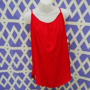 Women's Faded Glory red Cami